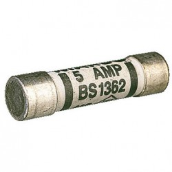 FIVE AMP PLUG TOP FUSE. BS1362. NIGLON.